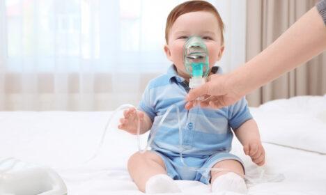 nebulizacja dziecka